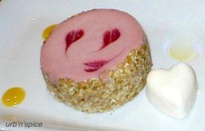 Individual Raspberry Swirl Cheesecake | urbnspice.com