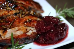 Roasted Turkey Thigh with Urb'n'Spice Holiday Treats Preserve   urbnspice.com