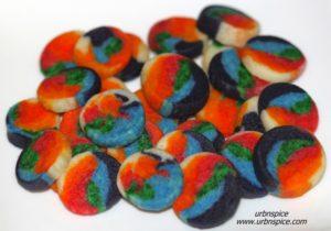 Rainbow Poppers | urbnspice.com