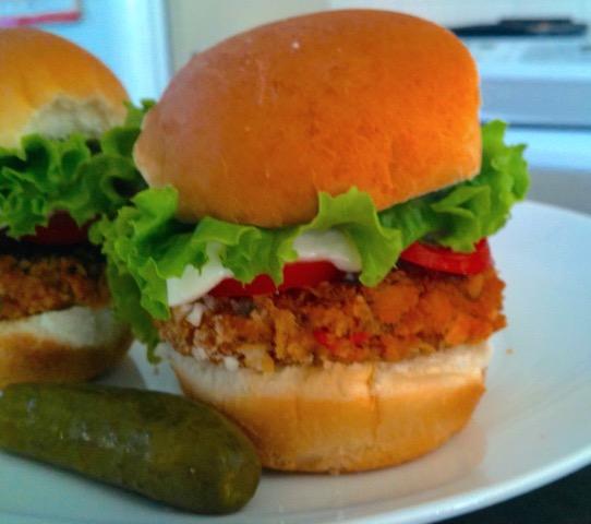 Rock Star Veggie Burgers | urbnspice.com