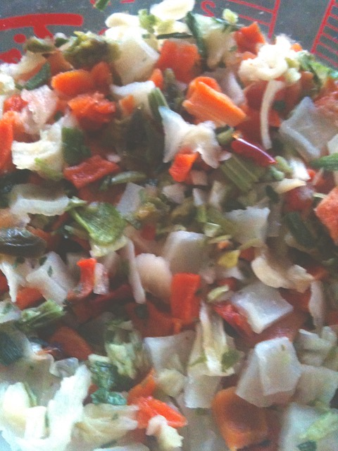 Rehydrated Vegetable Flakes | urbnspice.com