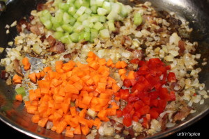 Sausage & Potato 'no bread' stuffing | urbnspice.com