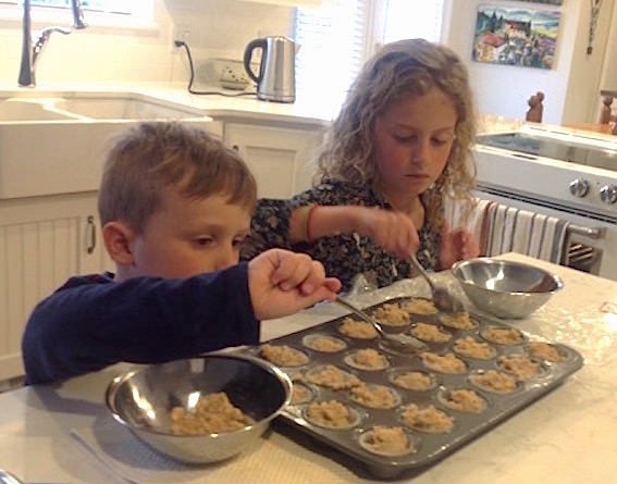 Best Banana Muffins Ever: Kids in the Kitchen   urbnspice.com