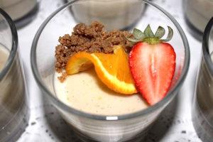 Coconut Orange Dairy Free Pudding   urbnspice.com