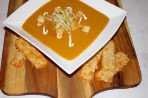 Roasted Butternut Squash & Caramelized Pear Soup   urbnspice.com