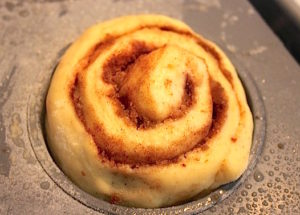 Cinnamon Roll Proofing   urbnspice.com