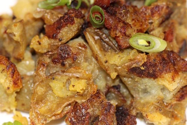 Crispy Potato Peelings   urbnspice.com
