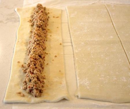 Pistachio Chicken Pastry Puffs | urbnspice.com