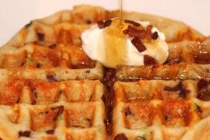 Savoury Waffle   urbnspice.com