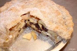 Apple Cream Pie | urbnspice.com