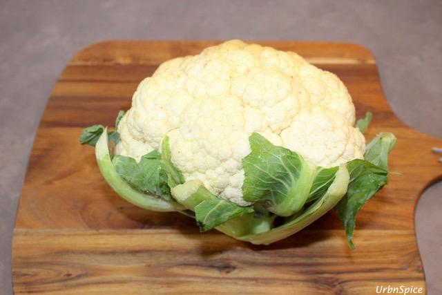Fresh Cauliflower | urbnspice.com