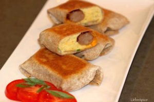 Breakfast Burritos ready for a crowd or the freezer reserve | urbnspice.com