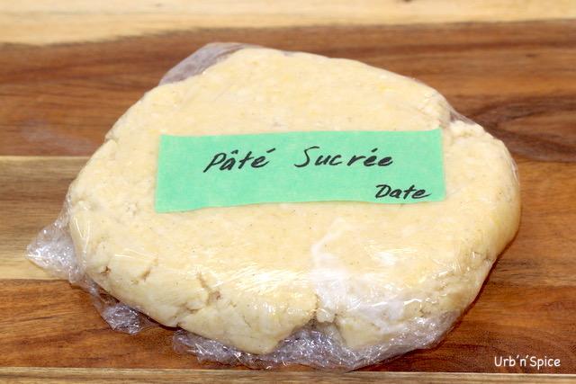 Pate Sucree Dough wrapped | urbnspice.com