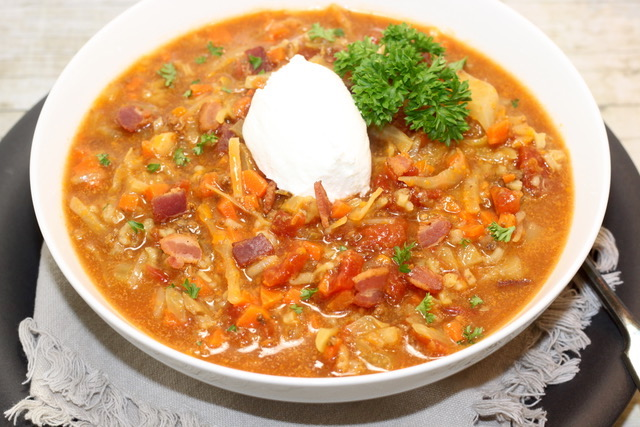 Cabbage Roll Soup | urbnspice.com