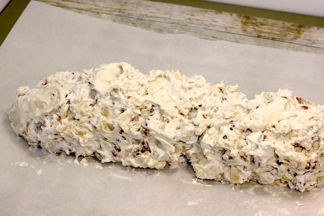 Meringue mixture baked freeform on parchment | urbnspice.com