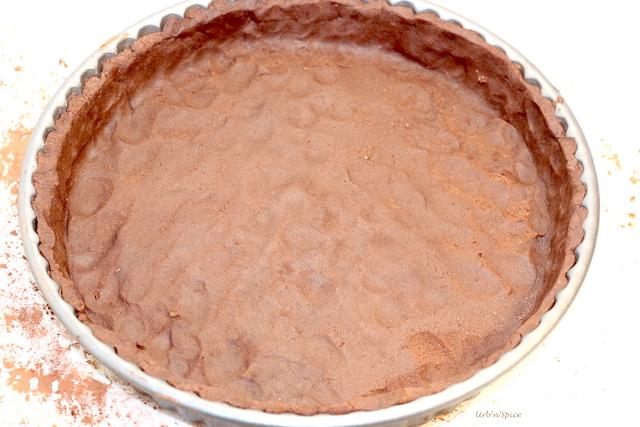 Pressed In Chocolate Shortdough Crust | urbnspice.com