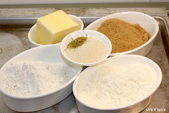 Cheesecake Crust ingredients | urbnspice.com