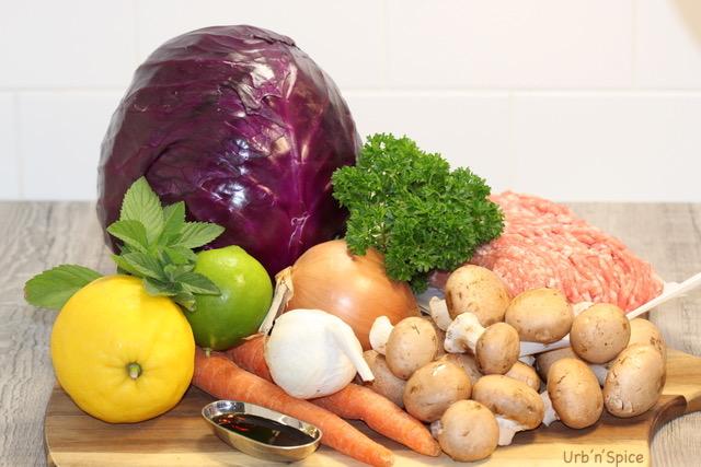 Blenditarian Pork and Vegetables Ingredients | urbnspice.com