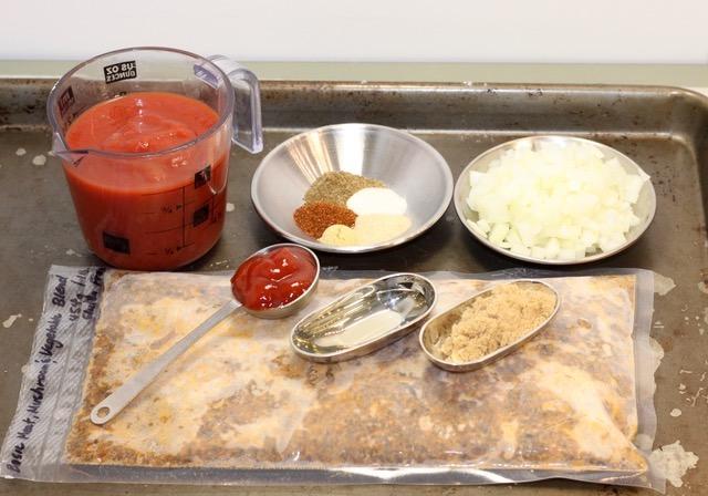 Back-to-School Blenditarian Sloppy Joes ingredients | urbnspice.com