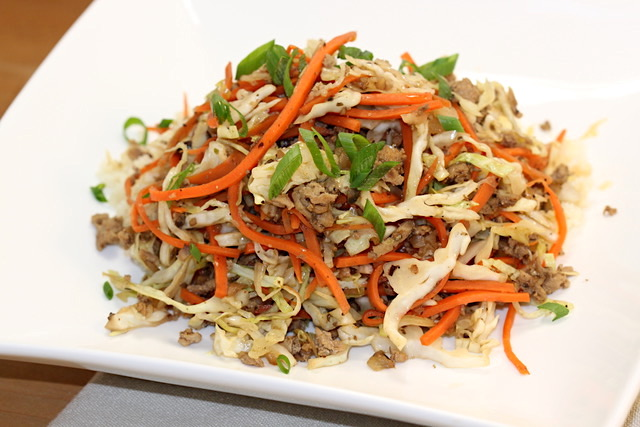 Egg Rolls Exposed in a Bowl | urbnspice.com