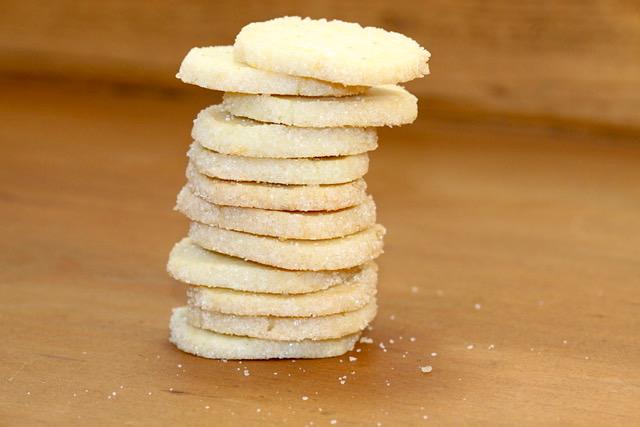 Citrus Sand Cookies   urbnspice.com