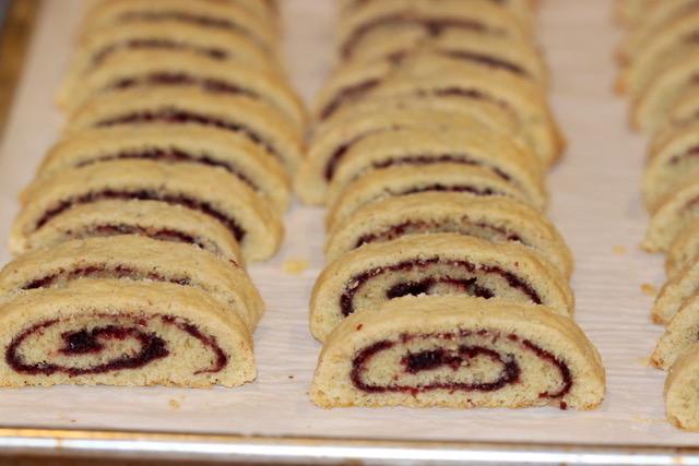 Baking Holiday Pinwheel Biscotti