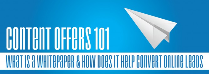 Content Offers 101 What Is A Whitepaper & How Does It Help Convert Online Leads