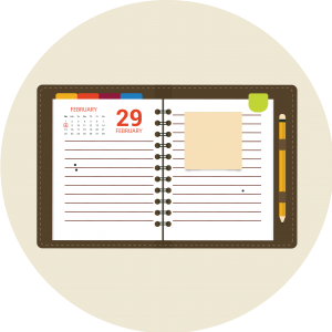 marketing schedule posting consitentcy
