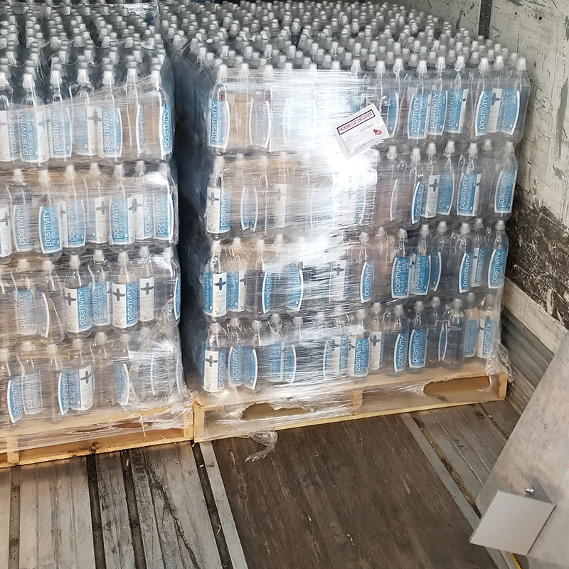 Positivity Water Truckload