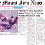 Mount Airy News Teacher Spotlight