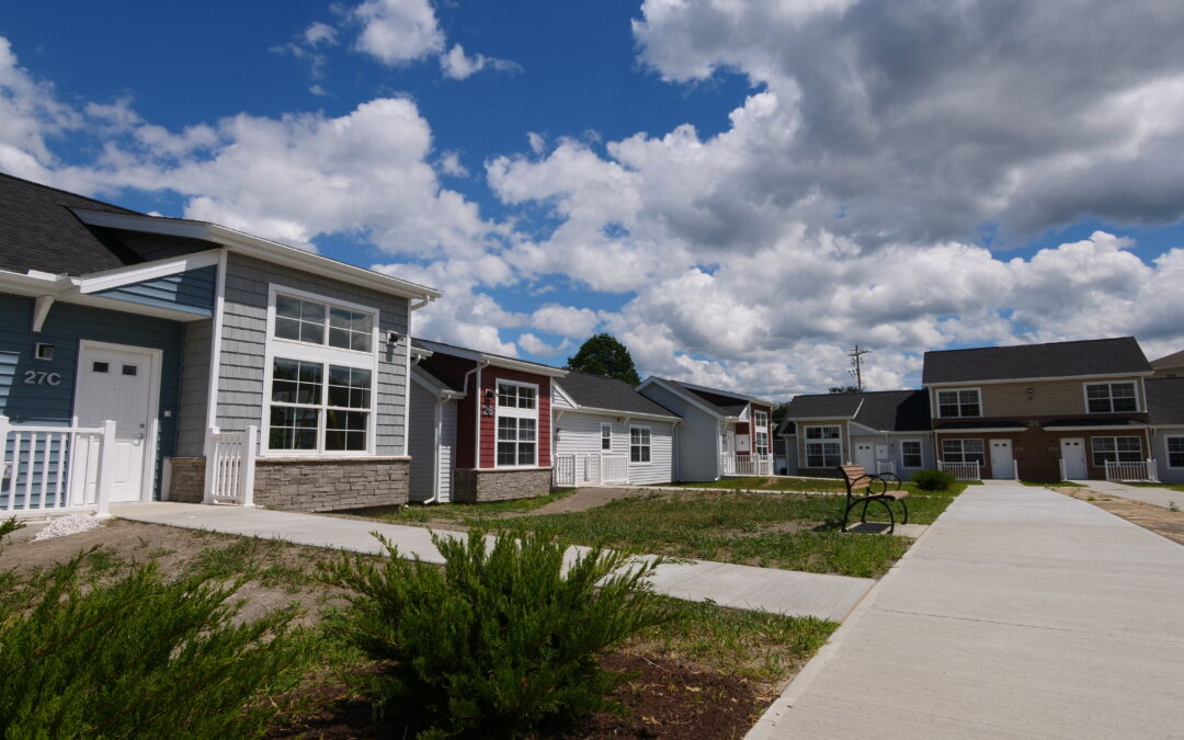 Newly renovated townhomes at Lamphear Court