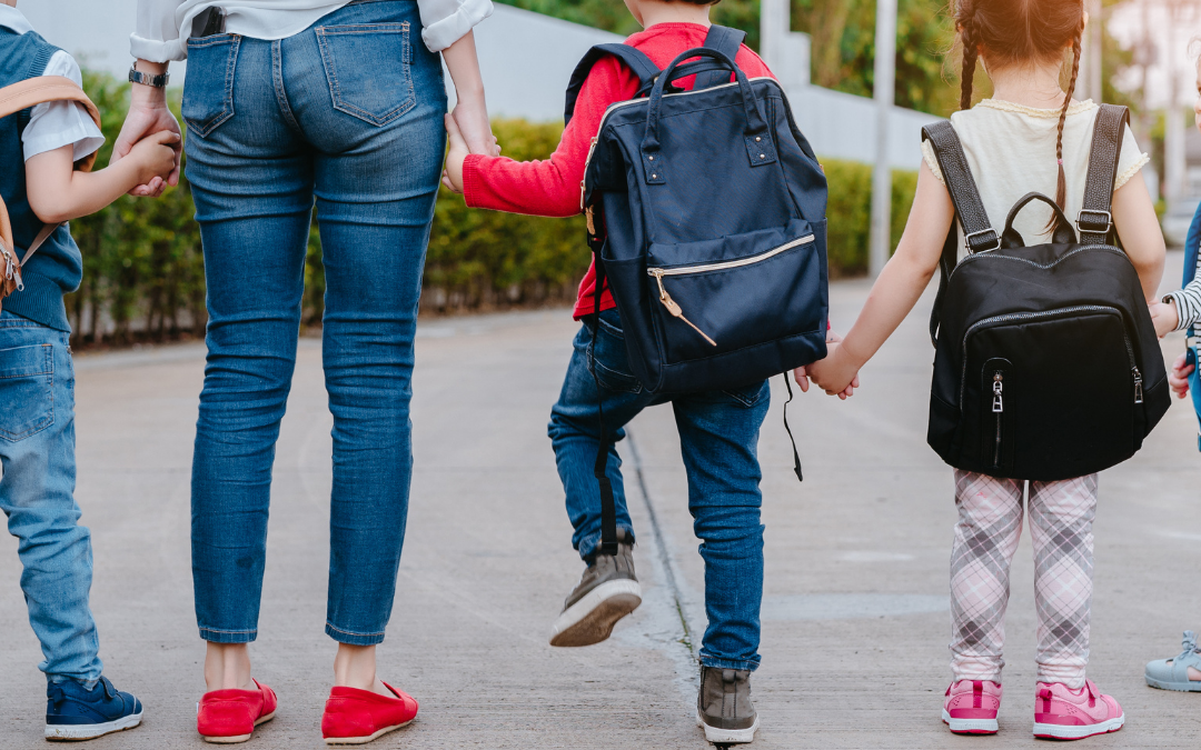 How to Manage Anxiety About Your Children Going Back to School In-Person