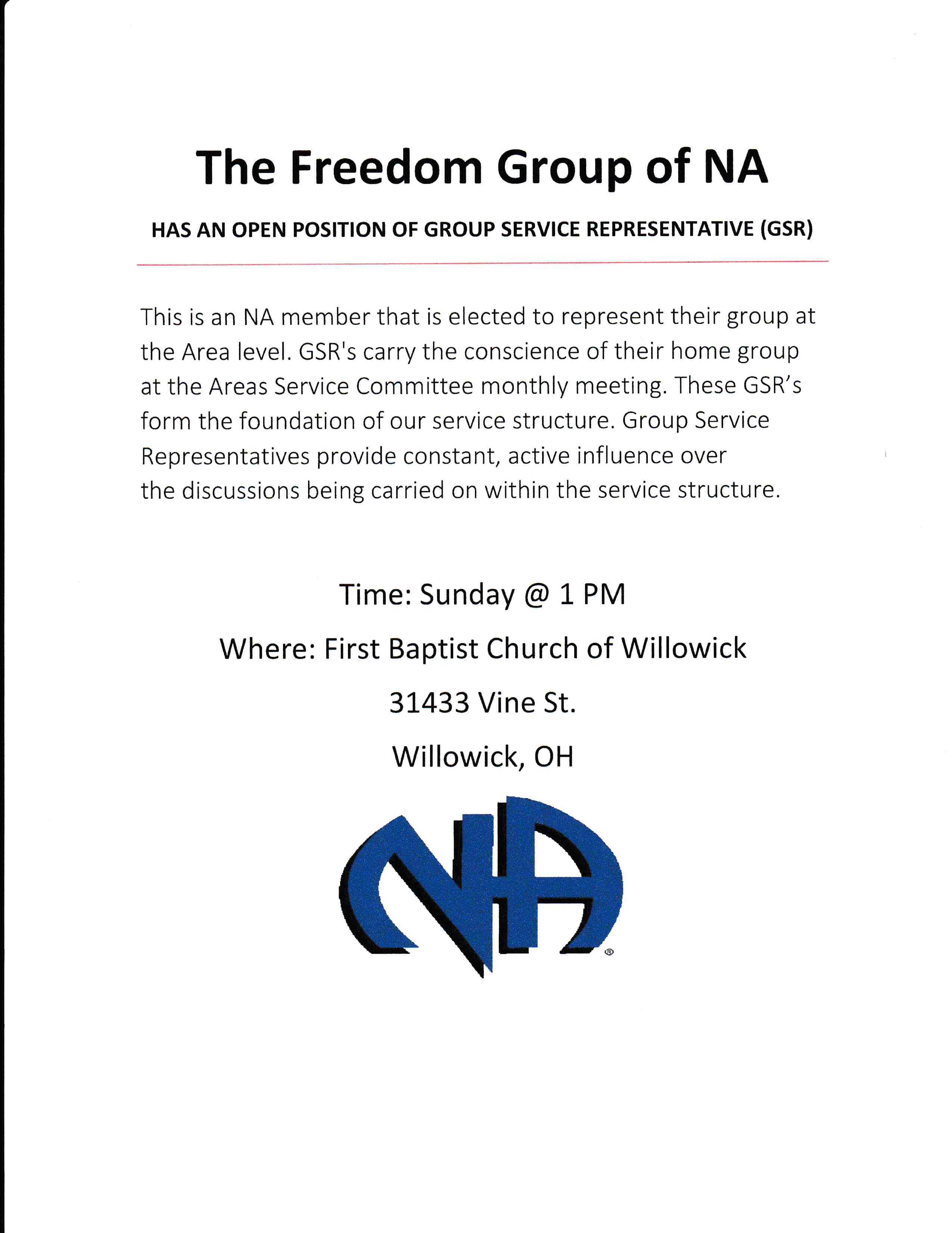 Freedom Group Open GSR