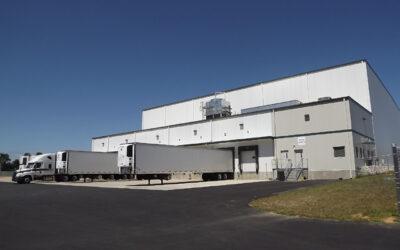 RLS Logistics Industrial Freezer Building