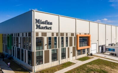 Stanker & Galetto celebrate completion of phase two warehouse construction on Misfit's Market headquarters