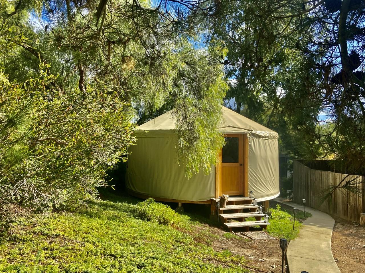 the soul lodge yurt
