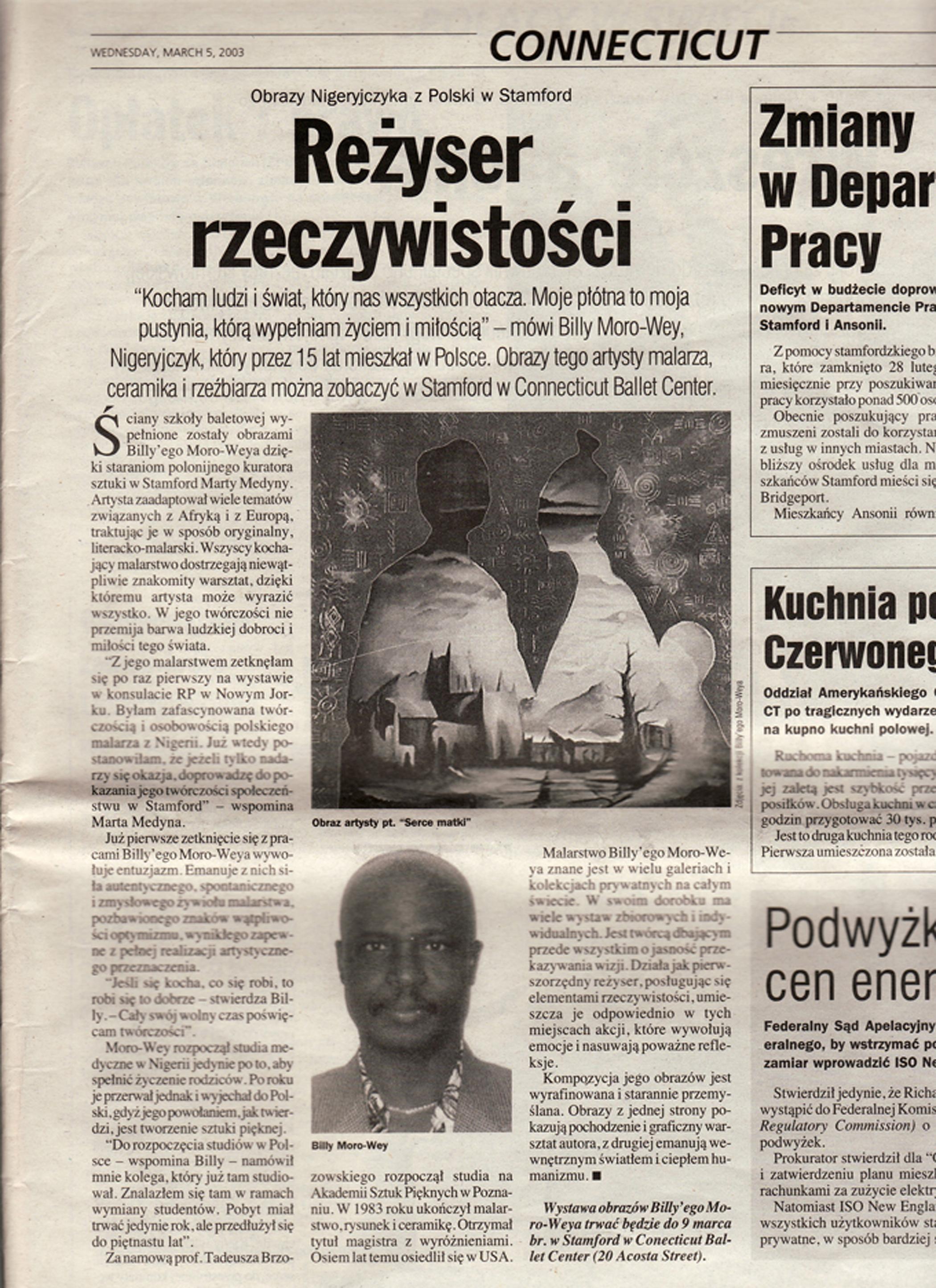Nowy Dzienik, Dir. of Reality