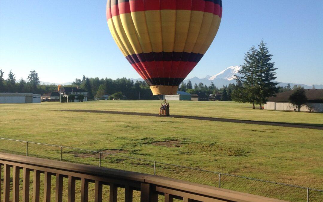 Where Do Hot Air Balloons Land?