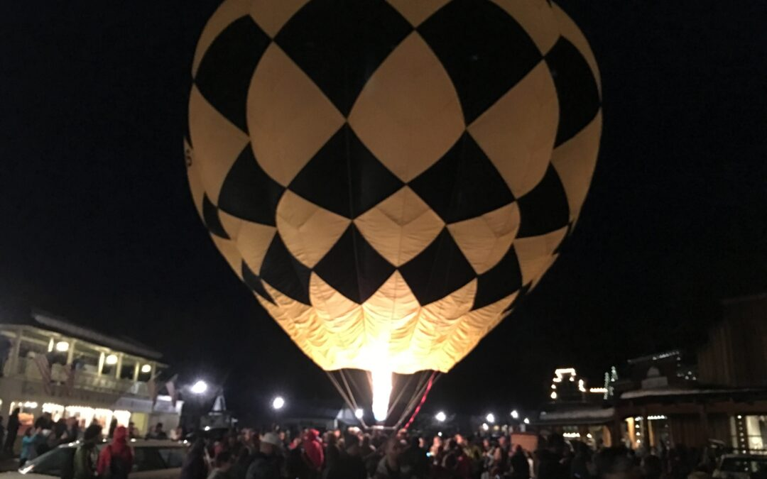Rare Experience With The 19th Modern Hot Air Balloon Ever Built