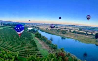 Prosser Balloon Rally 2017 with 360 degree photos and video