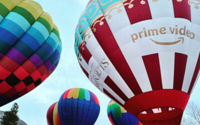 Getting Young People Involved in Ballooning with the Support of Amazon Studios and Prime Video