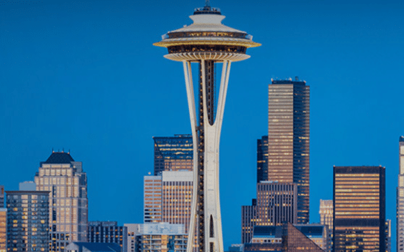 Seattle Space Needle: 2nd Best Tour Hot Air Ballooning