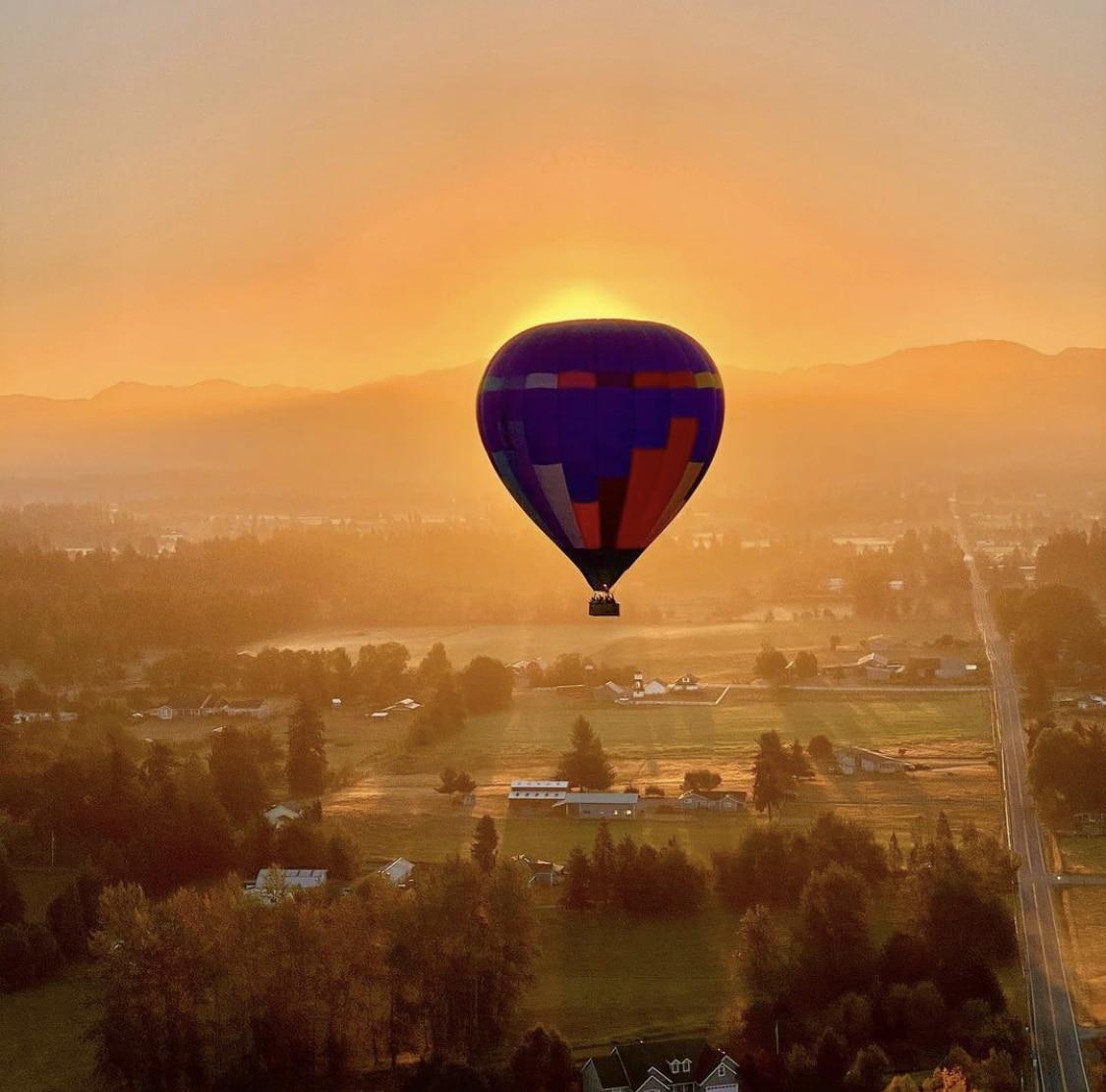 Kirkland hot air ballooning