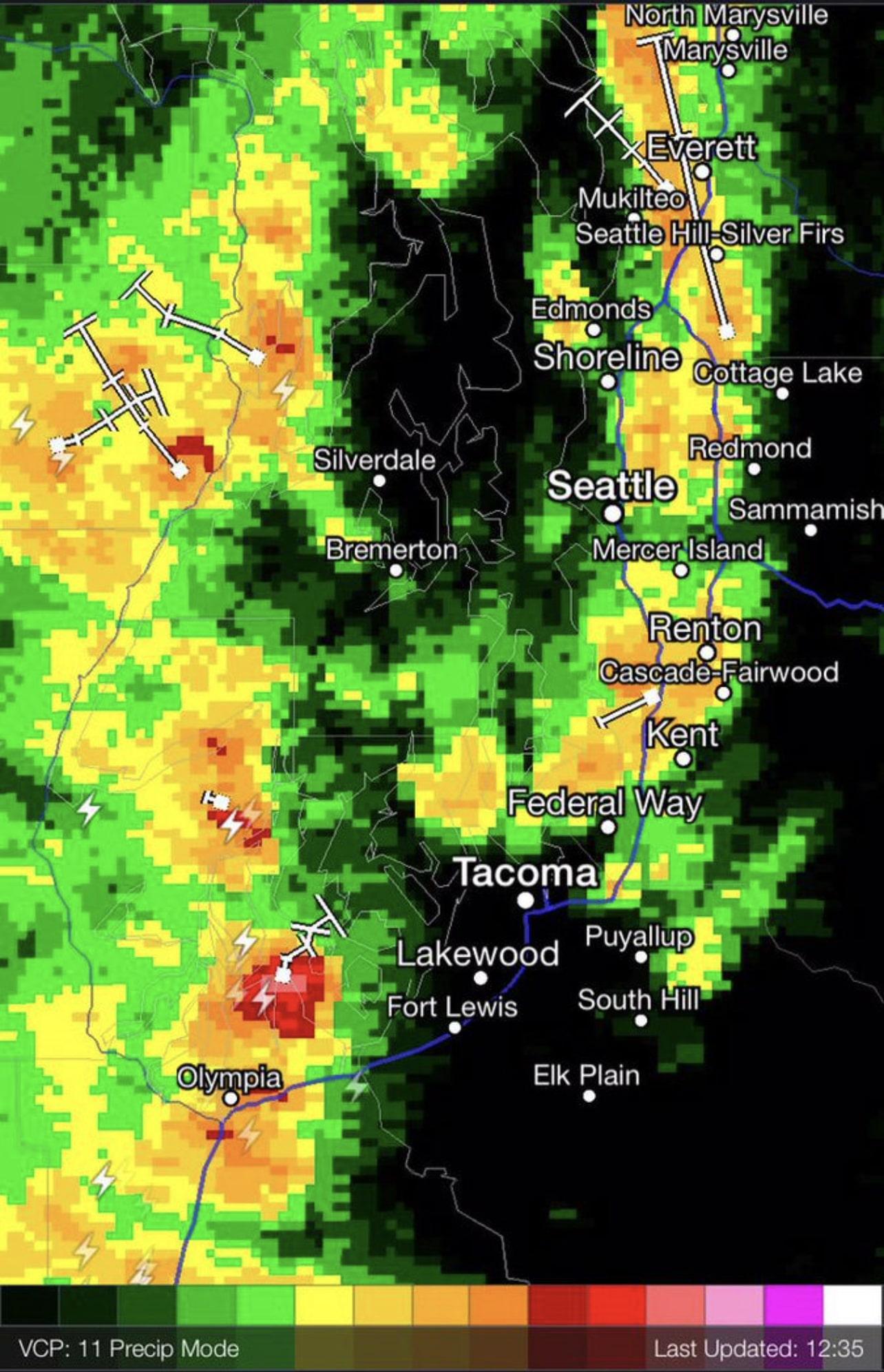 weather radar washington state