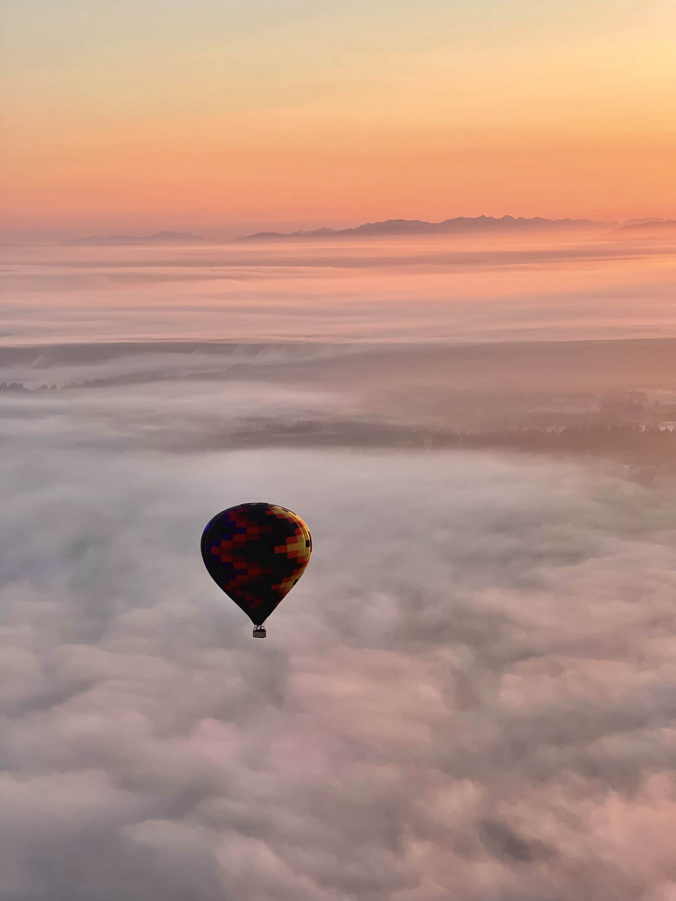 weather for hot air balloon ride