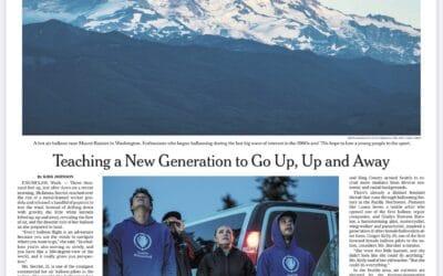 New York Times – Seattle Hot Air Balloon Rides