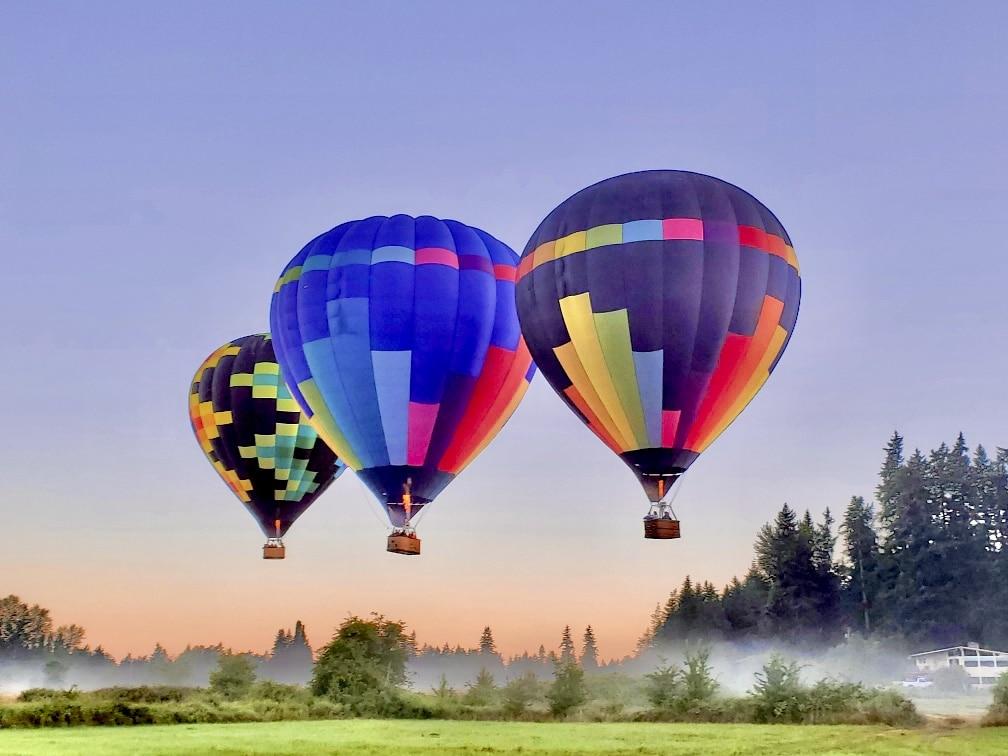 Hot air balloon rides Walla Walla