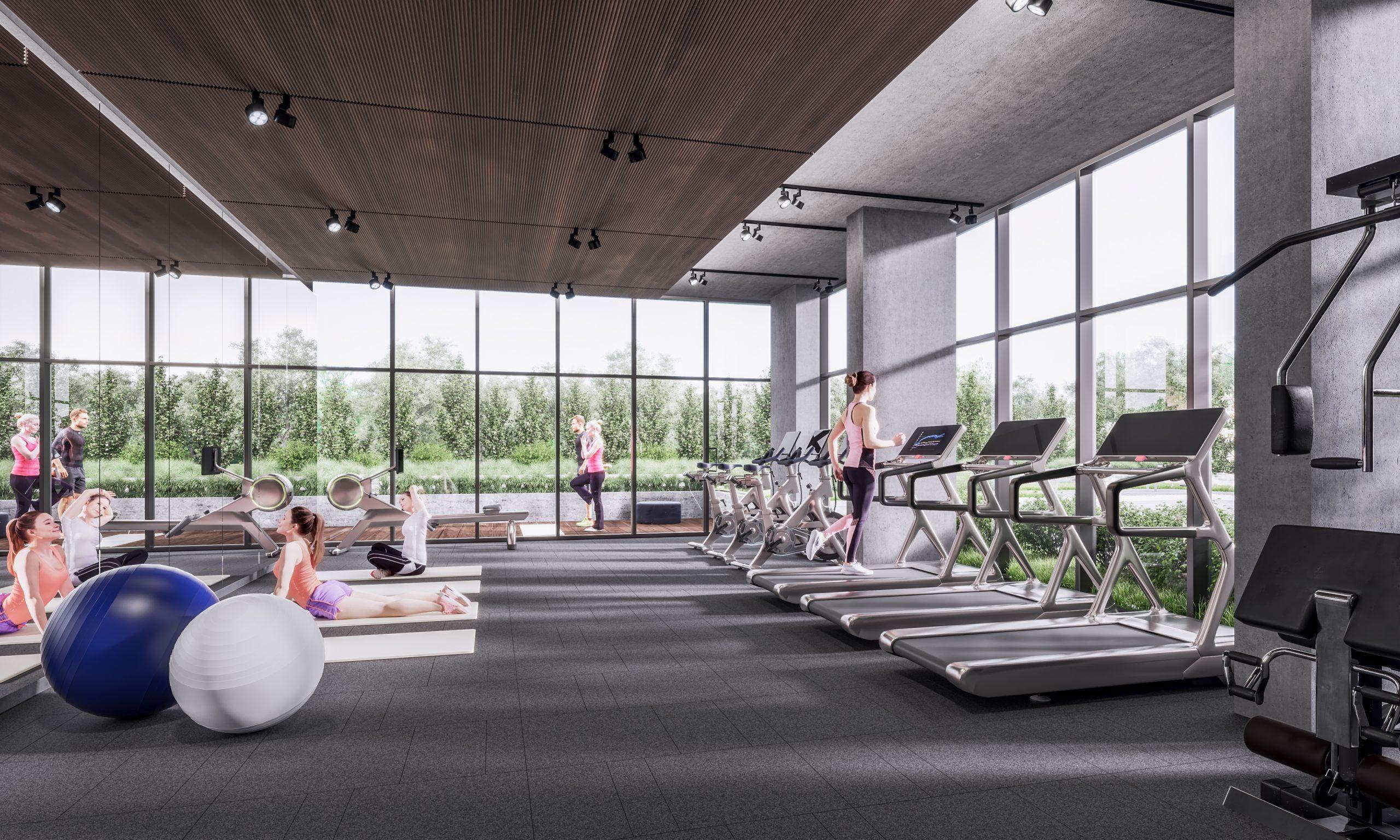 Wellness centre at Mondria 1