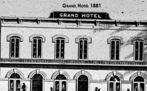 A Grand Hotel in 1881