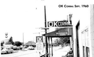 The OK Corral in September 1960
